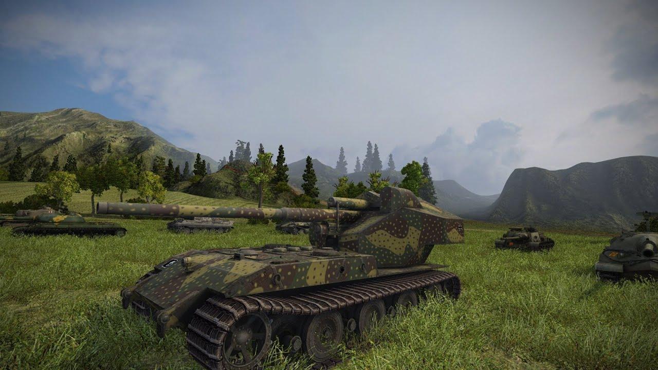 World of Tanks - WT E100 - 10.7k Dmg - Airfield - YouTube