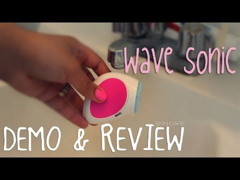 SKIN CARE   NEUTROGENA WAVE SONIC   DEMO & REVIEW