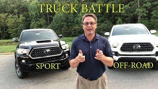 Tacoma Battle: 2018 TRD Sport vs TRD Off-Road