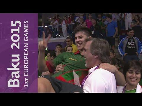 Men's Team Gold Final   Table Tennis   Baku 2015 European Games