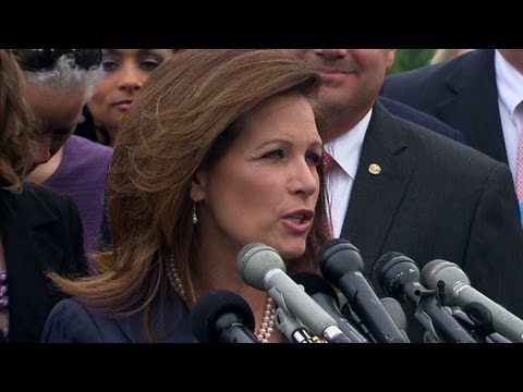 Rep. Michele Bachmann responds to IRS targeting scandal