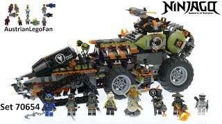 Lego Ninjago 70654 Dieselnaut - Lego Speed Build Review