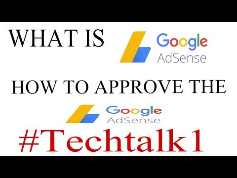 GOOGLE ADSENCE #TECHTALK 1 WITH TOQEER TRICK MASTER