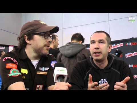 Robot Chicken Matthew Senreich New York Comic Con Interview
