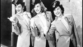Watch Andrews Sisters Oh Johnny Oh Johnny video