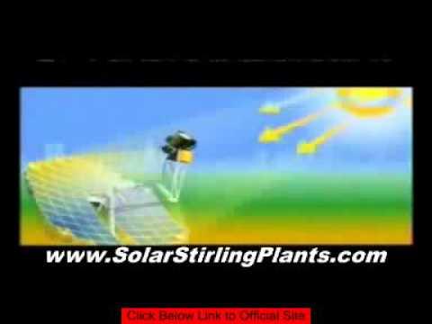 FREE Energy Guide - Solar Stirling Motor For Free Energy
