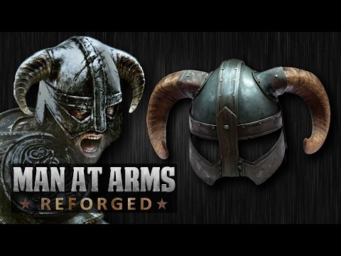 Dragonborn's Iron Helmet (skyrim) - Man At Arms: Reforged video