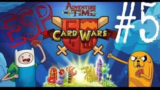 ► Card Wars: #5 | Gameplay | ESPAÑOL | HORA DE AVENTURA |