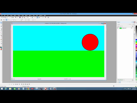 intro to animation in Corel Photopaint X6 part1