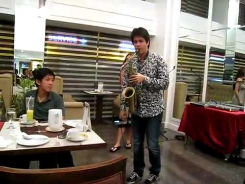 Michael Young Saxophone And Maricar De Mesa video