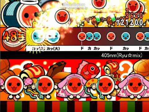 太鼓さんなんとか 405nm(Ryu☆mix) おに 「beatmania IIDX 20 tricoro」より