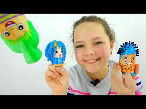 Профессия - парикмахер  Play Doh. Видео для детей