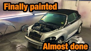 Rebuilding a Clean Title blown Motor Pt cruiser From Salvage Auction