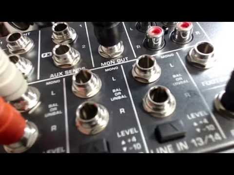 Hooking a Cell Phone to an Audio Mixer for Doing Phone Interviews