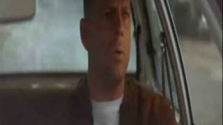 Pulp Fiction - Marcellus Wallace vs. Butch (Car Crash & Chase Scene)