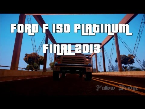 Ford F-150 Platinum Final 2013
