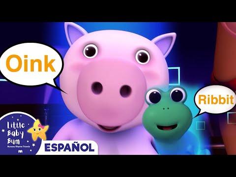 La canción de los sonidos de los animales | LittleBabyBum canciones infantiles HD 3D