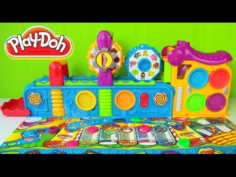 Plastilina Play-Doh Super Mega Fun Factory Juguetes Play Doh en Español