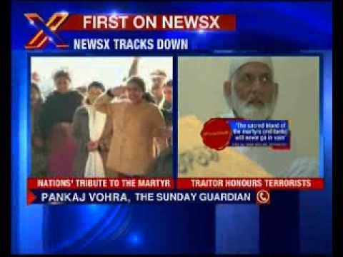 NewsX tracks down Geelani, he hides