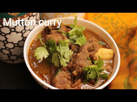 Mutton curry - Chettinad style mutton curry - Mutton recipe
