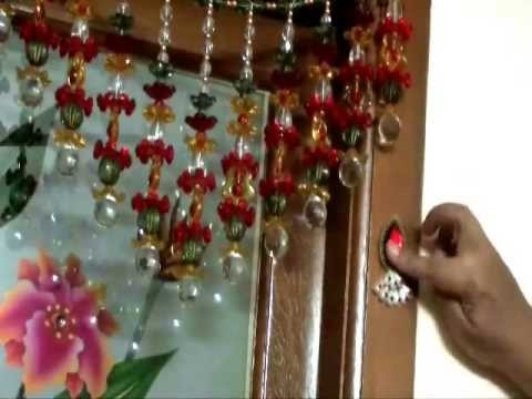 How to make a kundan motif to decorate the pooja room for Aarti thali decoration with kundan
