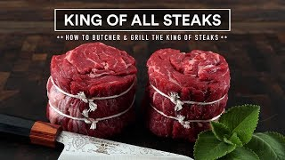 How to GRILL THE KING OF ALL STEAKS! The Ribeye Cap Steak!