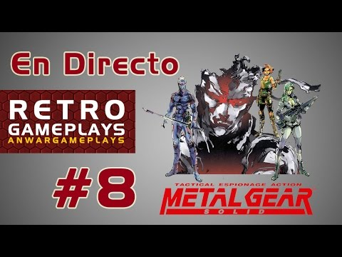 Retro Gameplays #8 || En Directo || Metal Gear Solid (1998, PS1)