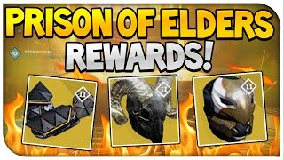 "Destiny : ""Prison Of Elders Exotic Rewards!"" (House Of Wolves)"