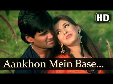 Aankhon Mein Base (Male) - Sunil Shetty - Sonali Bendre - Takkar...