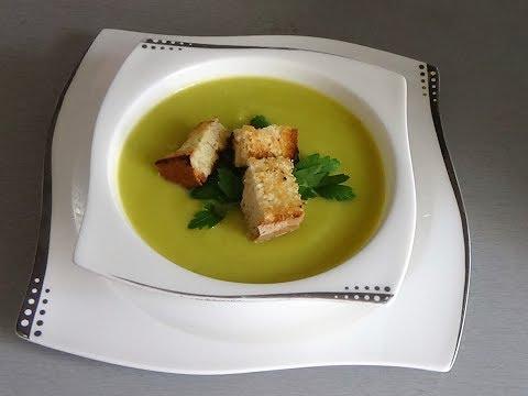 Суп-пюре из кабачков со сливками. Вкусно и полезно!