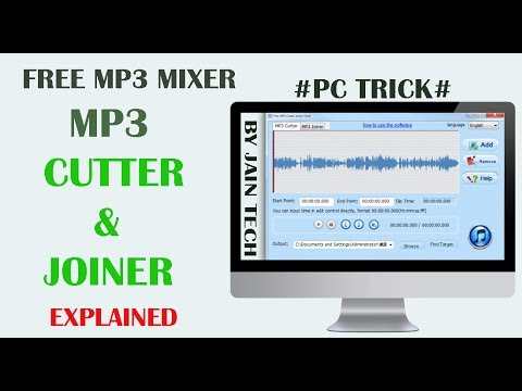 Free Mp3 Cutter & Joiner | Mix Your Songs | Pc Trick#