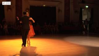 2015 Patricia and Matteo Dance tango to Mi Tango Triste at Cheltenham International Tango Festival