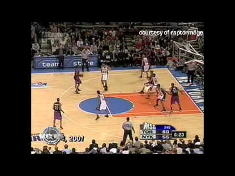 05.04.01 - VC vs Knicks G5 27pts (Raptors 1st Playoff Series Win w/ Clutch Rebound & Layup)