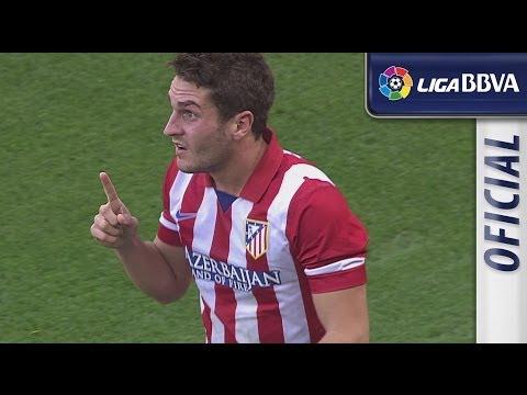 Resumen de Málaga CF (0-1) Atlético de Madrid - HD - Highlights