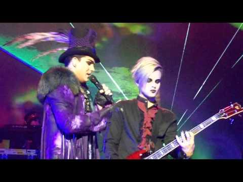 Adam Lambert - Voodoo, Down the Rabbit Hole, Ring of Fire - St. Louis August 8, 2010