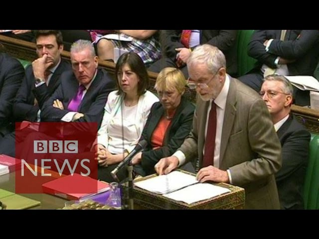 Corbyn: 'Does it strengthen or undermine security?' BBC News