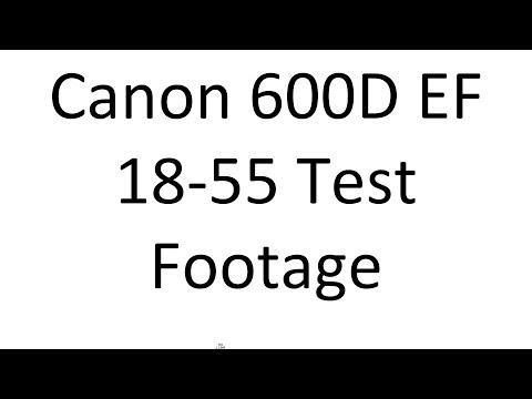 Canon EOS 600D | 18-55 f 4.0 – 5.6 | Bokeh Test
