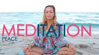 Week One: Month of Meditation with Kino Yoga, Peace Amidst the Storms