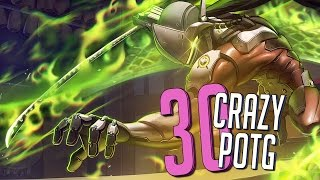 30 CRAZY PLAYS OF THE GAME ► Overwatch Highlights Community Montage
