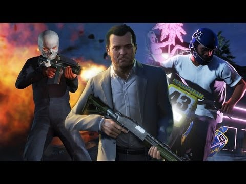 GTA 5 - Vorschau / Preview zum potentiellen Megahit Grand Theft Auto 5