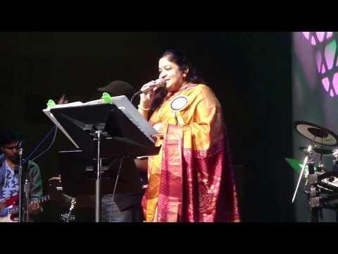 குழலூதும் கண்ணனுக்கு Fetna 2012 Chithra video