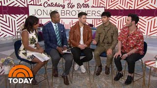 Jonas Brothers Dish On Family, Wives And Purity Rings   TODAY