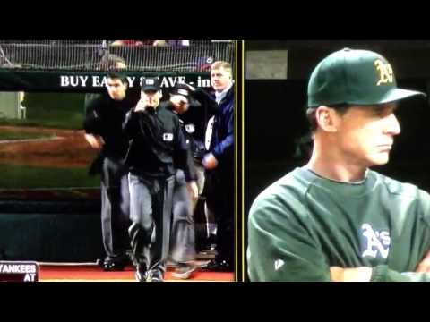 A's vs Indians: Home Run Blown Call