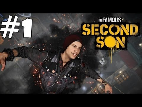 InFamous Second Son Walkthrough Part 1 Gameplay Let's Play Playthrough 1080p HD Review