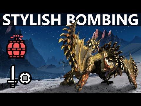 【MH4U】 Seregios Stylish Bombing︱Solo Strategy
