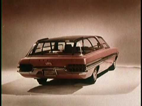 Styling and the Experimental Car 1960's Vinatge Ford Motor Company Film