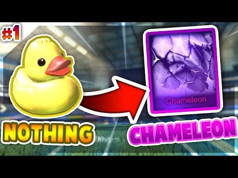 TRADING FROM NOTHING TO CHAMELEON *EP1* (ROCKET LEAGUE BEST TRADES)