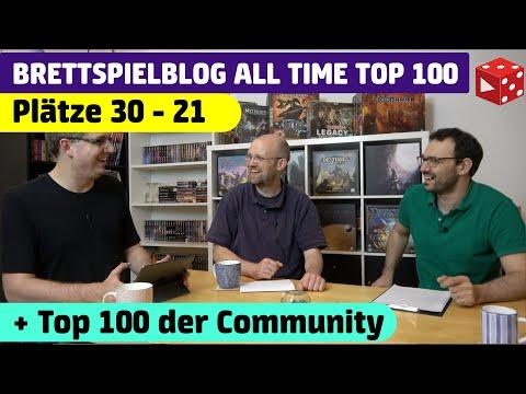 30 - 21 • Die ALL TIME TOP 100 besten Brettspiele aller Zeiten von Ben, Flo & der Community !
