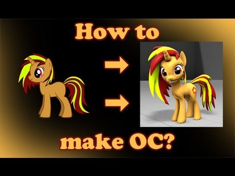 3d Game | How to make pony OC for SFM Gmod OLD | How to make pony OC for SFM Gmod OLD