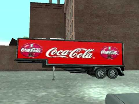 gta sa truck trailer mods